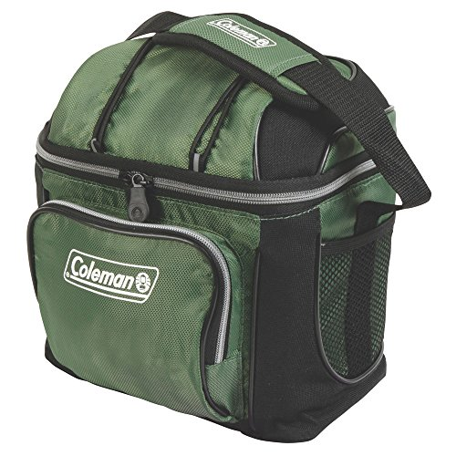 (Coleman 3000001318 Cooler Soft 9 Can Green W/ Liner)
