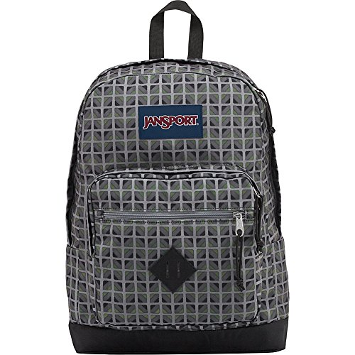 JanSport City Scout Laptop Backpack - Sale Colors (Muted Green Window Pane)