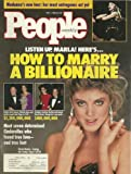 Marla Maples, Madonna, Lorrie Morgan and Keith Whitley, Johnny and Jody Carson - May 7, 1990 People Weekly Magazine