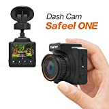 dash board dvr - ThiEYE Car Dash Cam Safeel ONE 1296P LCD Driving Video Recorder Small Car Vehicle Dashboard DVR Camera Video Recorder with Night vision Loop Recording Parking Monitor Built-in G-Sensor