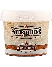 BBQ Peri Peri Rub – BBQ Seasoning – Dry Rub Meat Seasoning – Gourmet Meat Rubs – 150g (5.3oz) Pack – by Pit Brothers BBQ