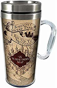 Spoontiques Solemnly Swear Insulated Travel Mug Parchment One Size