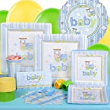 Carter's Baby Boy Baby Shower Standard Party Pack for 8 Party Supplies