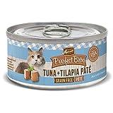 Merrick Purrfect Bistro Grain Free, 3 oz, Tuna & Tilapia Pate - Pack of 24