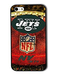 Tomhousomick Custom Design The NFL Team New York Jets Case Cover For iPhone 5 5S Personality Phone Cases Covers