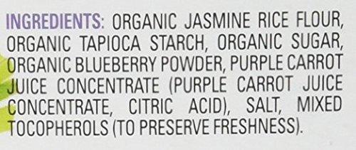 Happy Baby Organic Teethers Gentle Teething Wafers 2 Flavor Sampler Bundle: (1) Pea & Spinach Teething Wafers, and (1) Blueberry & Purple Carrot Teething Wafers, 1.7 Oz. Ea.