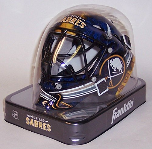 Cat Eye Goalie Cage - Buffalo Sabres Franklin Sports NHL Mini Goalie Mask - New in Box