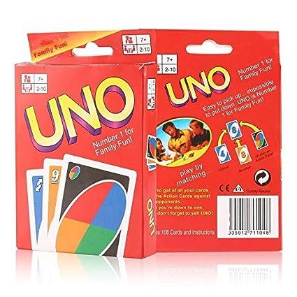 Functy 2 Juegos de Cartas del Uno Diversiã³n de la Familia ...