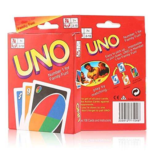 Functy 2 Juegos de Cartas del Uno Diversiã³n de la Familia del ...