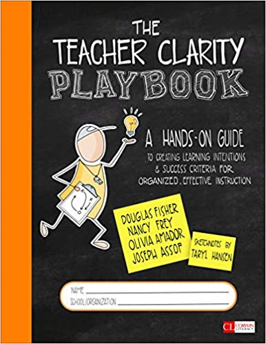 Amazon com: The Teacher Clarity Playbook: A Hands-On Guide