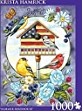 Andrews + Blaine 1000 Pcs 'Summer Birdhouse' By Krista Hamrick offers