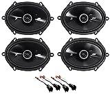 Best Kicker Car Door Speakers - Kicker 6x8 Front+Rear Speaker Replacement for 1999-2004 Ford Review