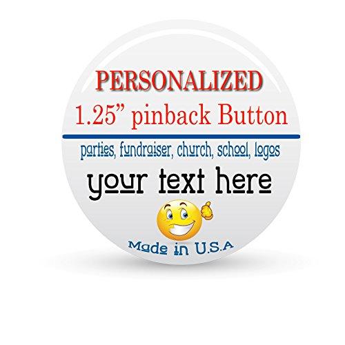 (2x Personalized / Custom 1.25