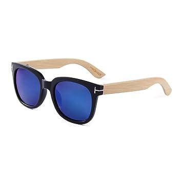 Gafas sol polarizadas de Madera del Brazo de bambú Hechas a ...