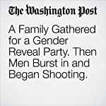 A Family Gathered for a Gender Reveal Party. Then Men Burst in and Began Shooting. | Avi Selk