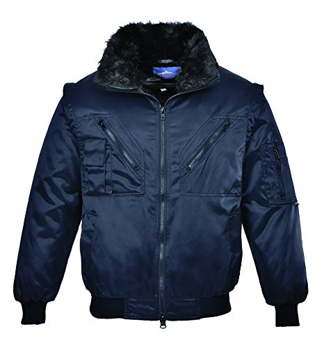 Portwest PJ10 - chaqueta de piloto, color Armada, talla XL Armada