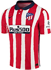 Nike 2020-2021 Atletico Madrid Authentic Vapor Home Football Soccer T-Shirt Jersey