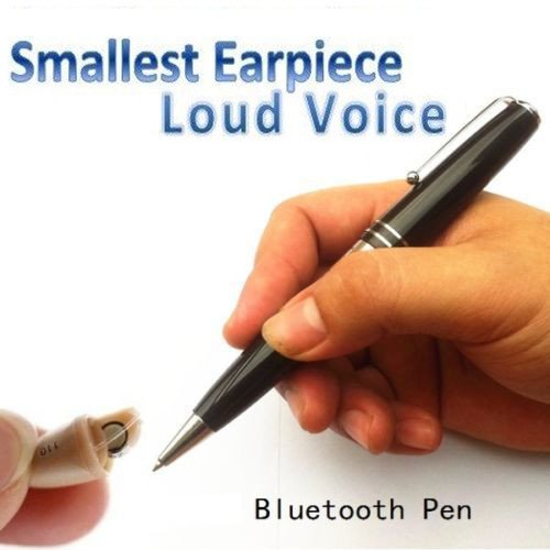 New Smallest Micro Spy Earpiece Bluetooth Pen Wireless Micro Hidden Bug for Private Communication (Smallest Video Transmitter)