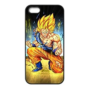 Protection Cover Sujwa iPhone 5, 5S Black Phone Case Dragon ball z super Personalized Durable Cases