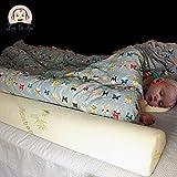 [2-Pack] Loop-De-Loo Brand™ Bamboo Toddler Sleep Bed Rail Safety Bumper