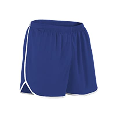 Alleson YOUTH PERFORMANCE TRACK SHORT ROYAL, WHITE M R2LFPY R2LFPY-ROWH-M