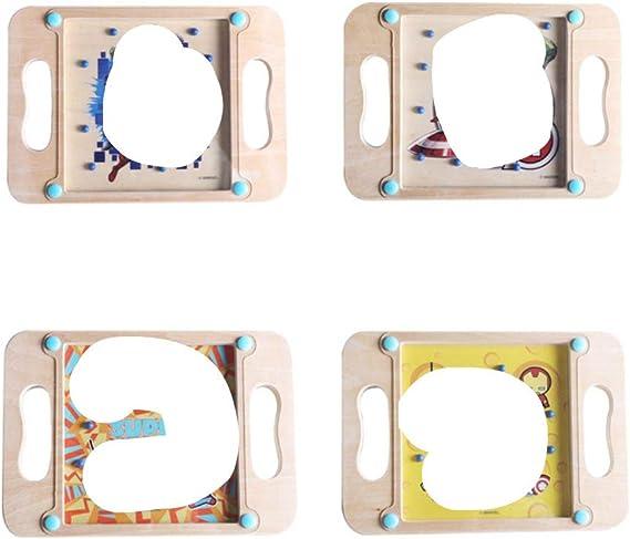 COMPY 3D Intelecto Puzzle Ball Maze Juego Niños Balanced Ball Card Juego de Mesa Adult Cube Puzzle Educación Balance Maze, Marvel Heroes A: Amazon.es: Hogar