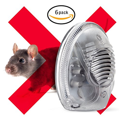 Mice, Rodent, Cockroach And Rat Repellent Ultrasonic Device - Best Humane Electronic Pest Control For Home (6) by Pest Revolter