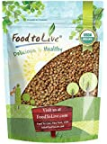 Organic Buckwheat Kasha by Food to Live (Grechka, Toasted Whole Groats, Non-GMO, Kosher, Bulk) — 1 Pound