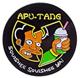 Apu-Tang Enamel Pin by Thrillhaus
