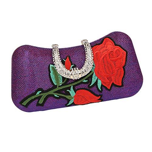 Gary À Sharplace Cocktail Soirée Clutch Main Sac Portefeuille Embrayage Handbag W4z4FxRan