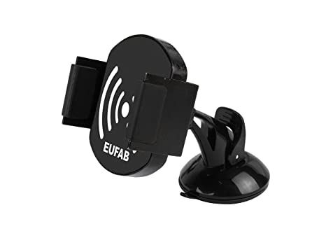 EUFAB Universal Kfz-Smartpone-Halterung mit USB-Anschluss