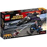 Lego Marvel Super Heroes - 76047 - Jeu De Construction - Black Panther Pursuit