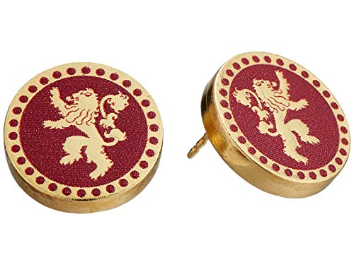 Alex and Ani Women's Game of Thrones, Lannister Post Earrings.925 Sterling Silver 14kt Gold Plated One Size