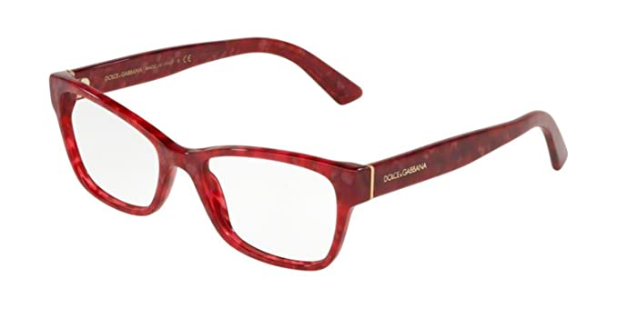 07a2a15265b3 Image Unavailable. Image not available for. Color  DOLCE   GABBANA D G  EYEGLASS FRAME DG3274 3175 CUBE ...