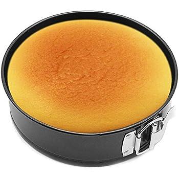 HOMOW Nonstick Bakeware Springform Pan,Cake Pan, Cheesecakes Pan (7 inch)