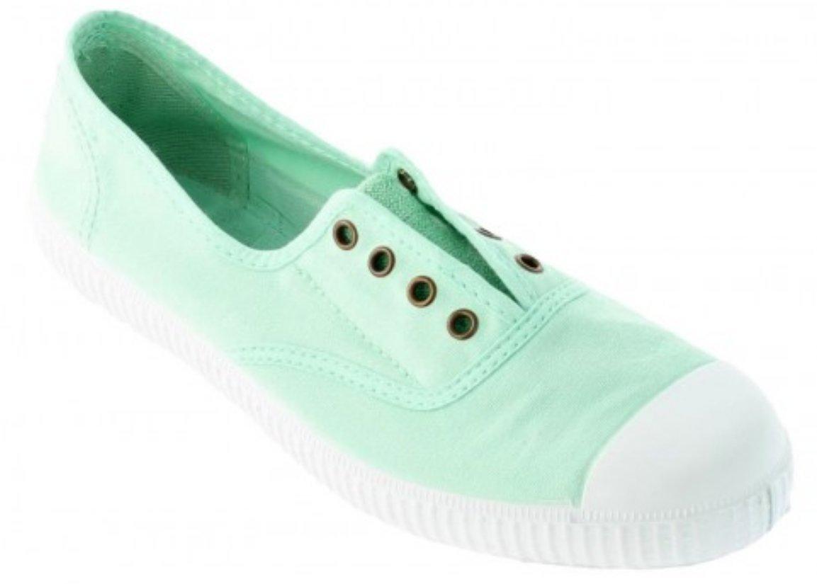 Victoria Women's Canvas Inglesa Elastico Fashion Sneakers Made in Spain B074PWZRD7 41 M EU|Menta