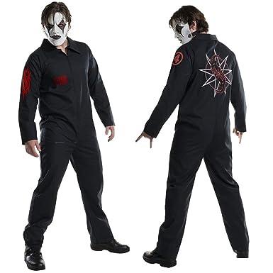 Amazon.com: Halloween Mens Jumpsuit Fashion Zip up Costume ...