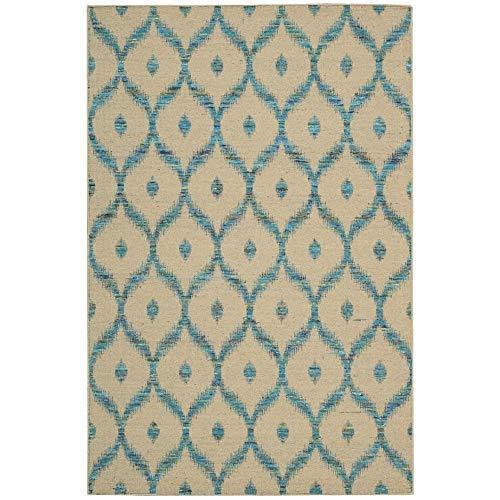 - Nourison Spectrum (SPE02) Bgtur Rectangle Area Rug, 8-Feet by 10-Feet 6-Inches (8' x 10'6
