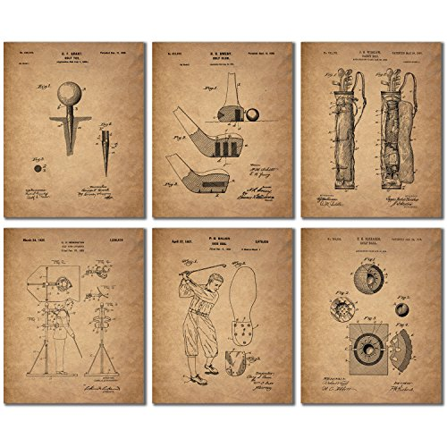 Golf Patent Wall Art Prints product image