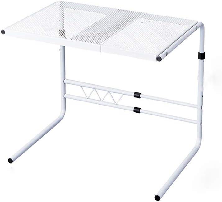 キッチン棚 2ティア多機能キッチンカウンター棚ステンレス鋼の拡張電子レンジラック キッチンに適しています (Color : White, Size : 60X53X40CM)