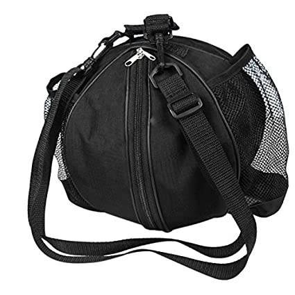 Waterproof Basketball Carrying Bags Portable Single-Shoulder Rounded  Training Sports Football Soccer Volleyball Carrier Holder 39b35c6eb7635