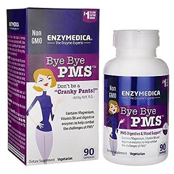 Amazon.com: Enzymedica - ByeBye PMS - 90 Count: Health ...