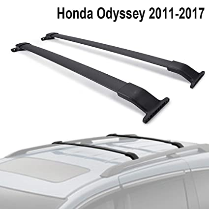 Honda Odyssey Roof Rack >> Alavente Roof Rack Crossbars Compatible For Honda Odyssey 2011 2017 Cross Bars Roof Rail Luggage Carrier Side Rails Needed