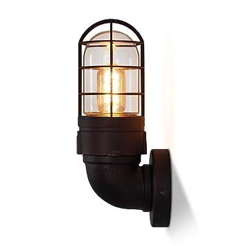 Amazon.com: Wall Lamps,Industrial Wind Bed Head Bedroom ...