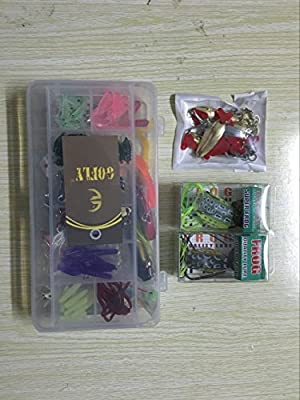 Fishing Lures Baits Tackle Set For Freshwater Trout Bass Salmon-Include Vivid Spinner,Topwater Frog,Crankbaits,Spoon
