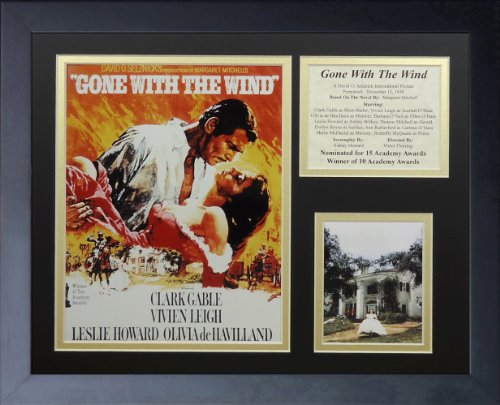 Legends Never Die Gone with the Wind Movie Art Framed Photo