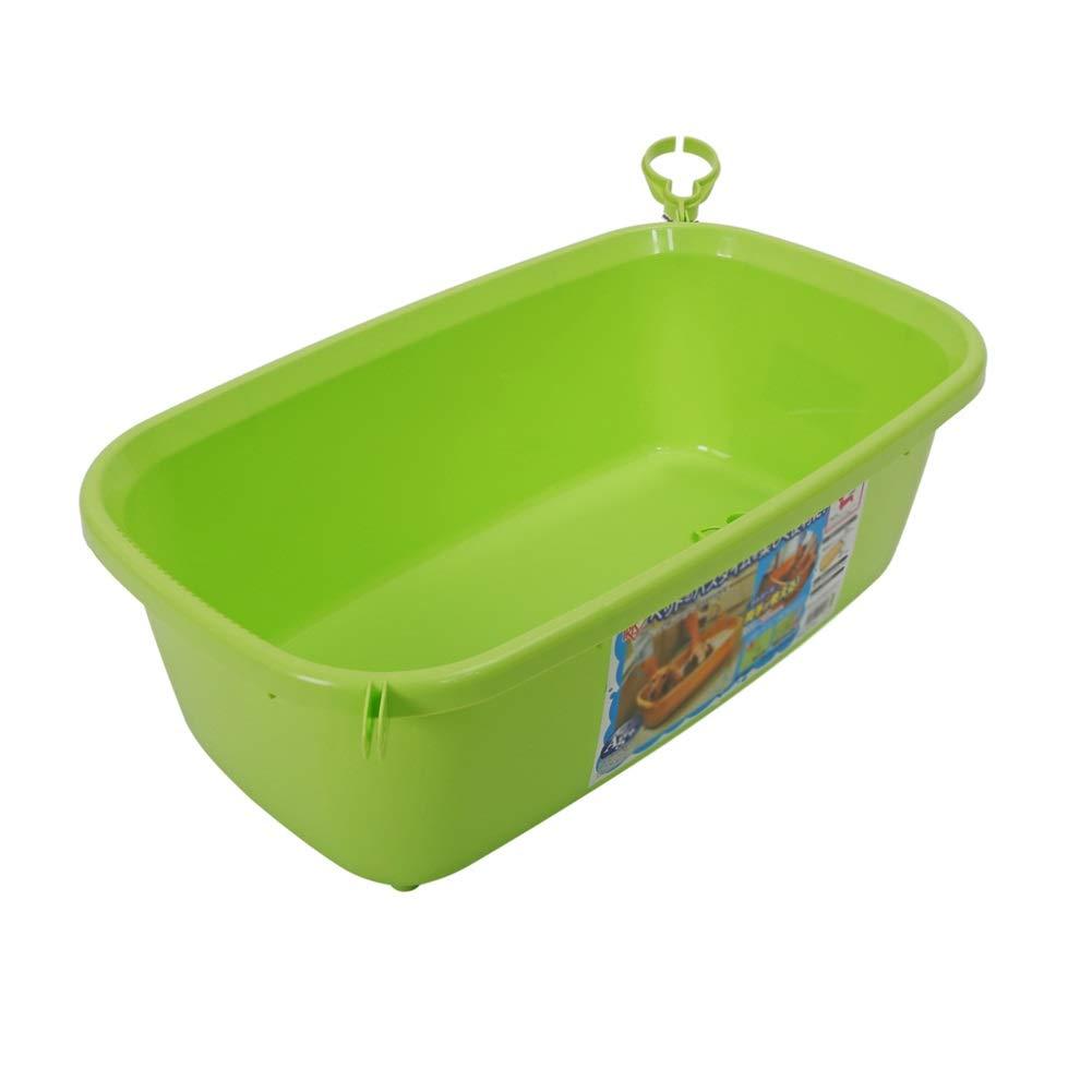 GREEN Dog Bath Tub, Skin Medicine Bathtub PP Material Pet Bath for Small and Medium Dog Baths tub (color   Green)