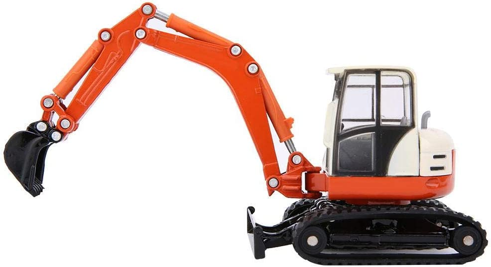 Mini RC Car Model Toy Digger and Excavator Truck Model 1:50 Engineering Vehicle Car Collection Toys for Kids Excavator Model Toy