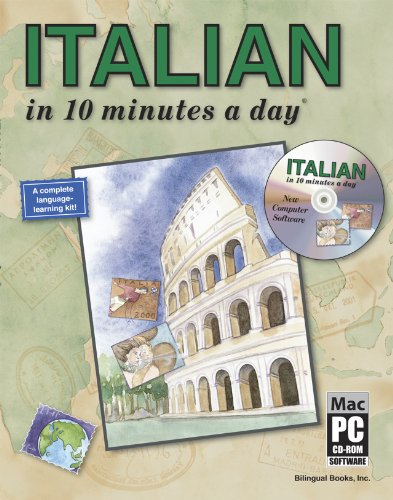 ITALIAN in 10 minutes a day with CD-ROM by BILINGUAL BOOKS INC