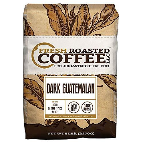 (Dark Guatemalan, Whole Bean Coffee, Fresh Roasted Coffee LLC (5 lb.))